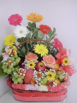 Frutas e Flores